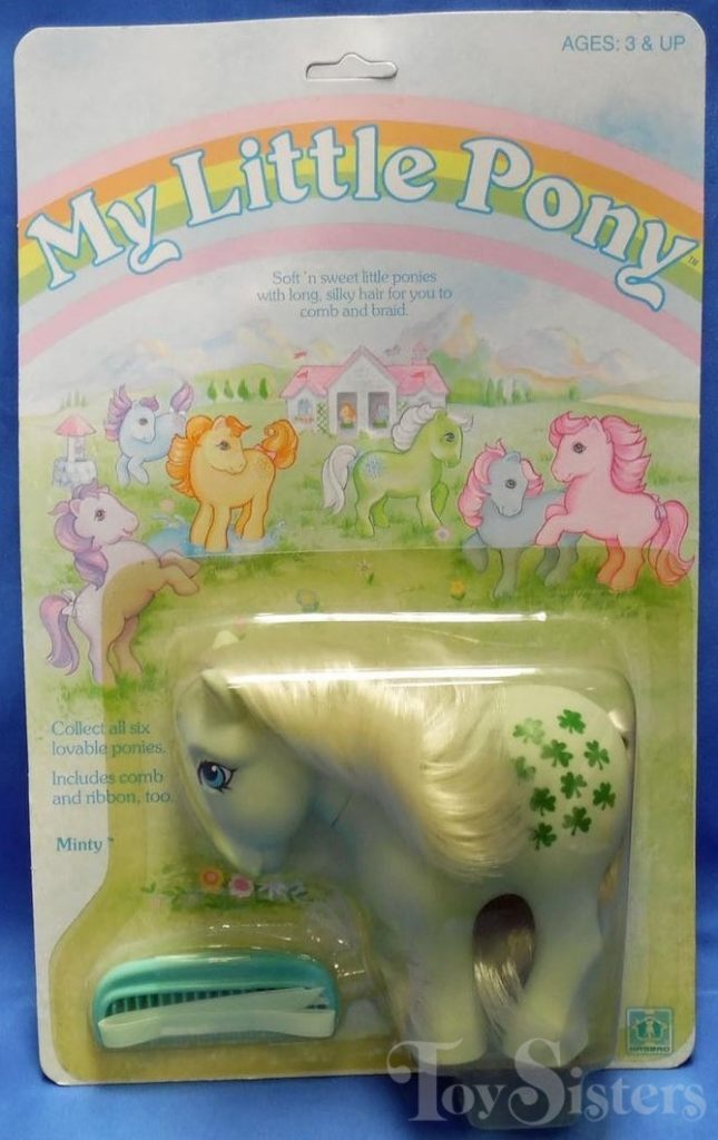 My Little Pony Flat Foot Minty – Toy Sisters