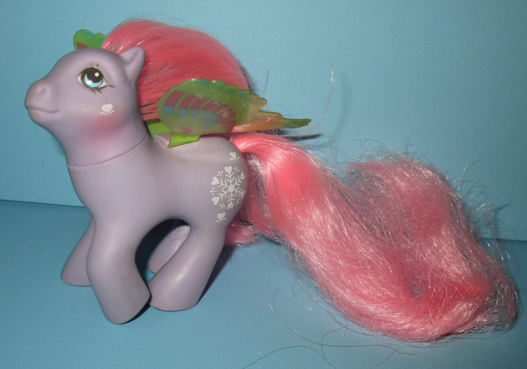 vintage my little pony windy wing flurry  toy sisters